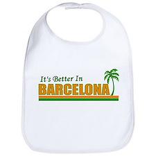 Funny Barcelona Bib