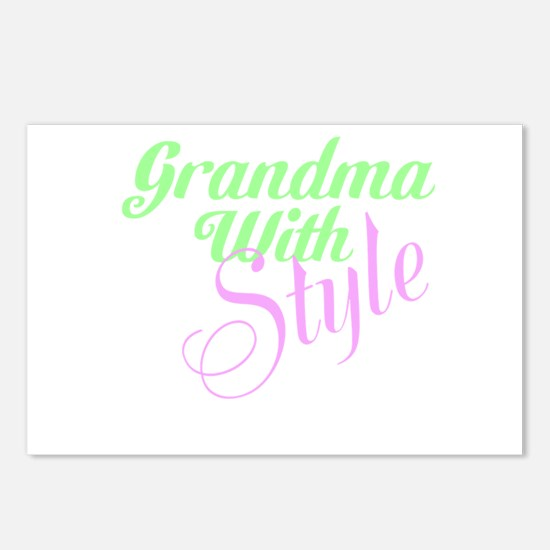 Grandma With Style Postcards (Package of 8)