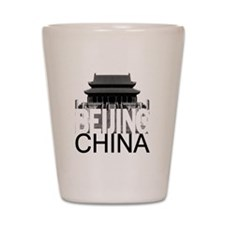 Beijing Skyline Shot Glass