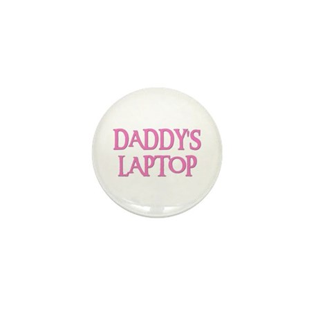 DADDY'S LAPTOP Mini Button (10 pack)