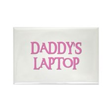 DADDY'S LAPTOP Rectangle Magnet