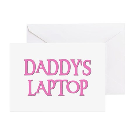 DADDY'S LAPTOP Greeting Cards (Pk of 10)