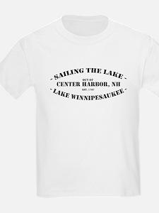Sailing the Lake Kids T-Shirt