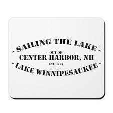 Sailing the Lake Mousepad