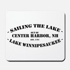 Sailing the Lake Mousepad