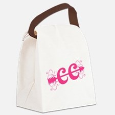 Pink CC Cross Country Canvas Lunch Bag