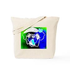 Blue Bulla Tote Bag