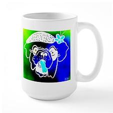 Blue Bulla Mug
