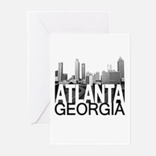 Atlanta Skyline Greeting Cards (Pk of 20)