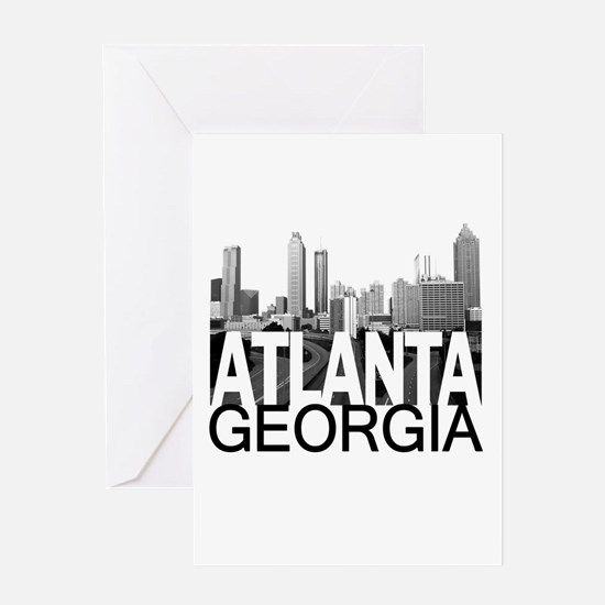 Atlanta Skyline Greeting Card