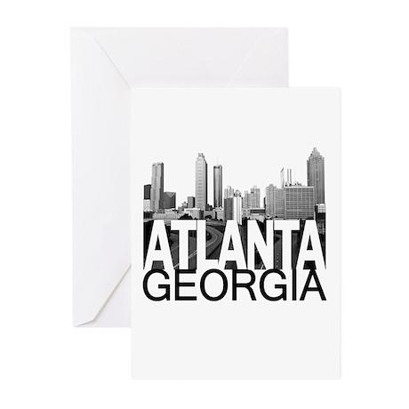 Atlanta Skyline Greeting Cards (Pk of 10)