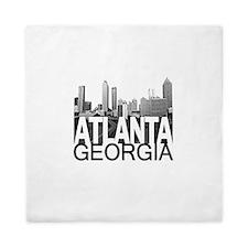 Atlanta Skyline Queen Duvet