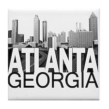 Atlanta Skyline Tile Coaster
