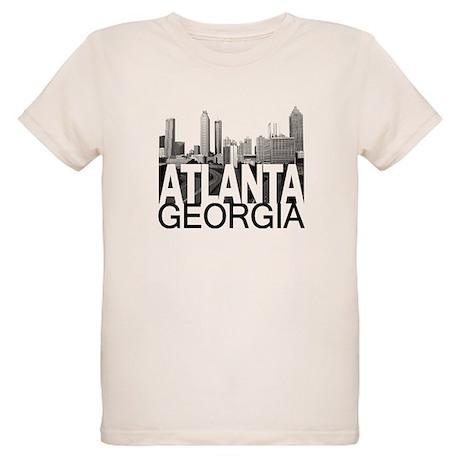 Atlanta Skyline Organic Kids T-Shirt