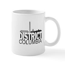 District of Columbia Skyline Mug