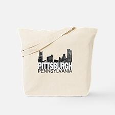 Pittsburgh Skyline Tote Bag