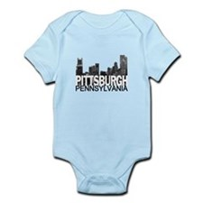 Pittsburgh Skyline Infant Bodysuit