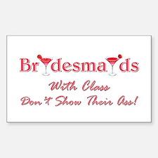 BRIDESMAIDS... Decal
