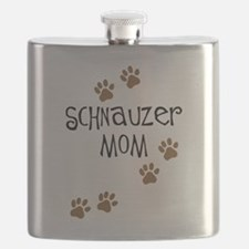 schnauzer mom.png Flask