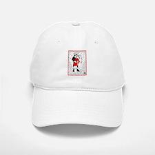 """""""THE KISS"""" by Joe King Baseball Baseball Cap"""