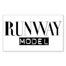Runway Model Rectangle Decal
