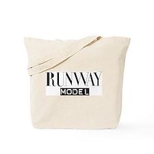 Runway Model Tote Bag