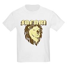 70's Safari Style Kids T-Shirt