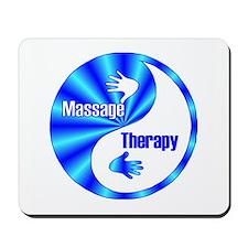 Massage Therapy Yin Yang Symb Mousepad