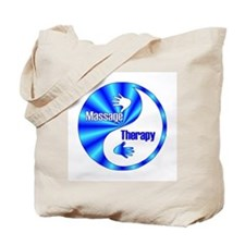 Massage Therapy Yin Yang Symb Tote Bag