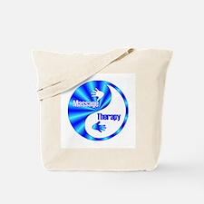 Massage Therapy Yin Yang Symb Tote Bag