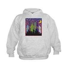 New York City Skyline rainbow Hoodie