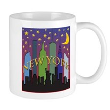 New York City Skyline rainbow Mug
