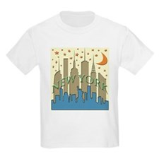 New York City Skyline beachy T-Shirt