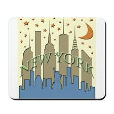 New York City Skyline beachy Mousepad