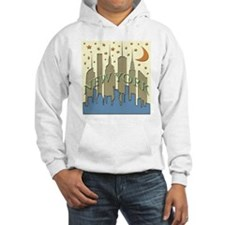 New York City Skyline beachy Hoodie