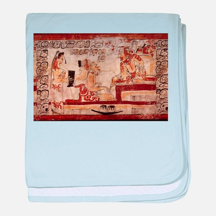 mayan baby blanket