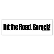 Hit the Road Barack Bumper Sticker