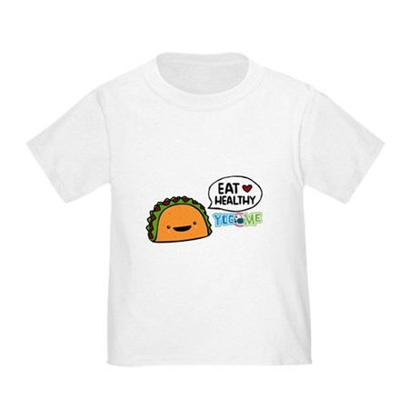 Eat healthy by yogome Toddler T-Shirt