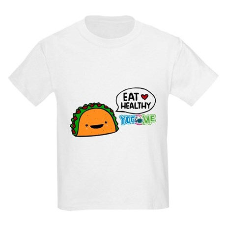 Eat healthy by yogome Kids Light T-Shirt