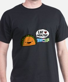 Eat healthy by yogome T-Shirt