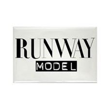 Runway Model Rectangle Magnet