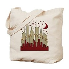 New York City Skyline hot Tote Bag