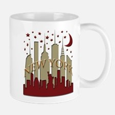 New York City Skyline hot Mug