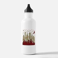 New York City Skyline hot Water Bottle