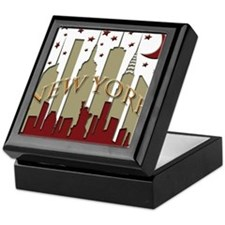 New York City Skyline hot Keepsake Box