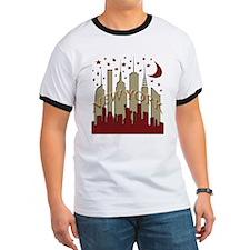 New York City Skyline hot T