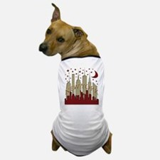 New York City Skyline hot Dog T-Shirt