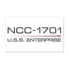 USS Enterprise 2009 Dark Wall Decal