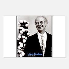 Linus Pauling Postcards (Package of 8)