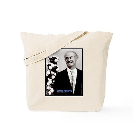 Linus Pauling Tote Bag